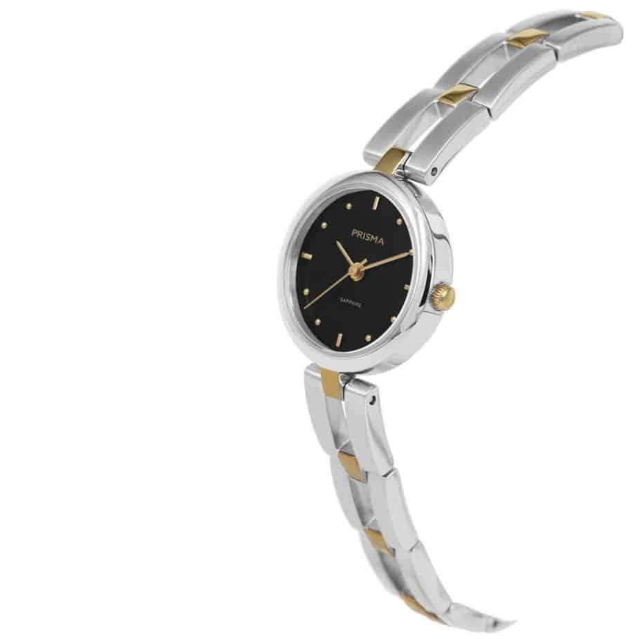 Prisma-P1951-dames-horloge-edelstaal-bicolor-schuin-l