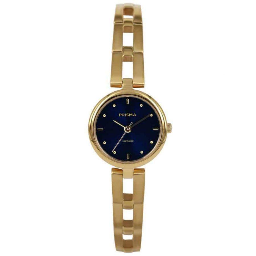 Prisma-P1952-dames-horloge-edelstaal-goud-l