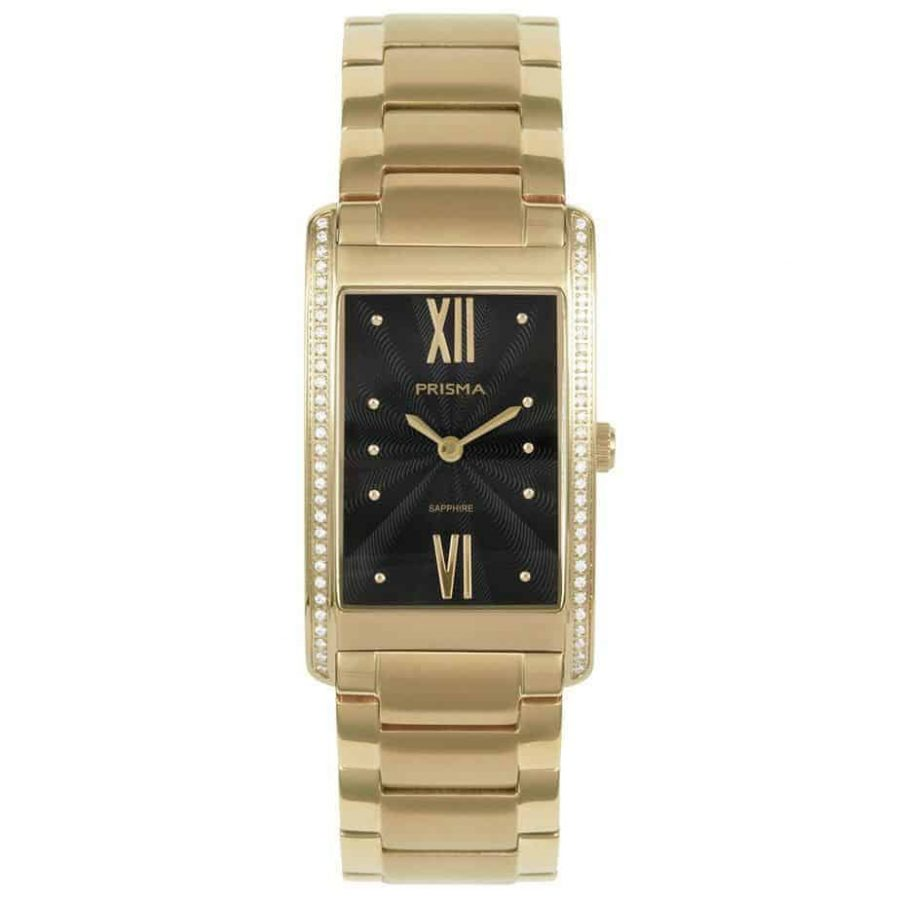 Prisma-P1957-dames-horloge-zirconia-titanium-goud-l