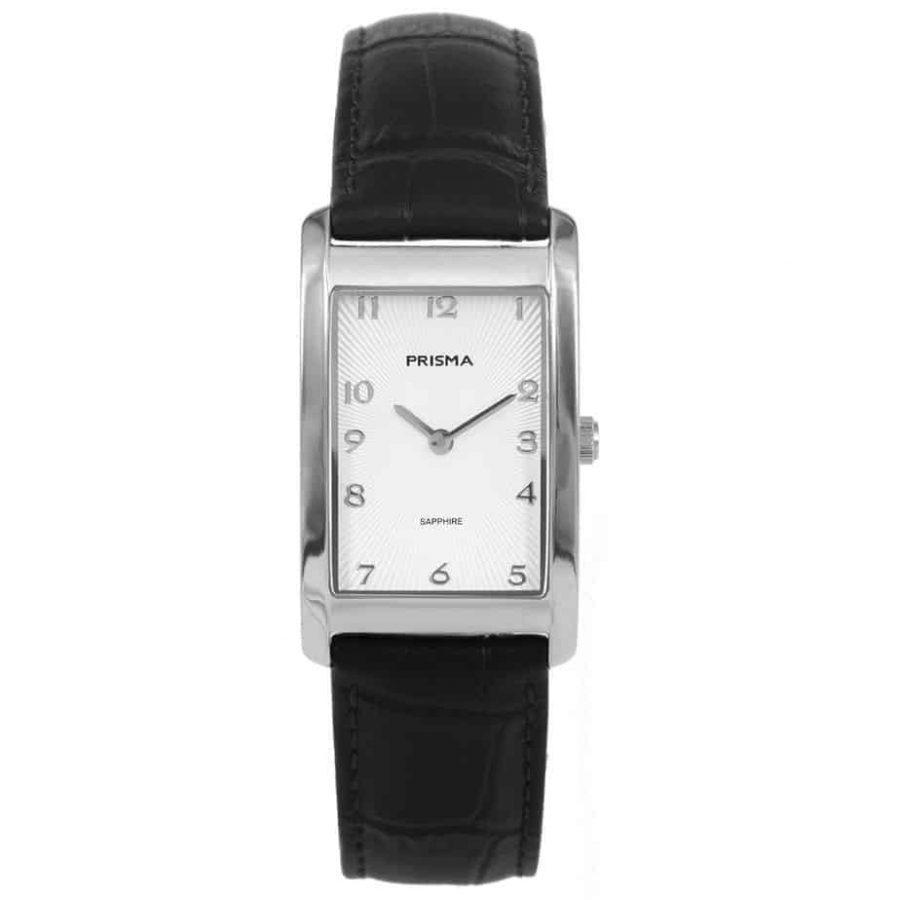 Prisma-P1965-dames-horloge-titanium-zilver-rechthoek-l