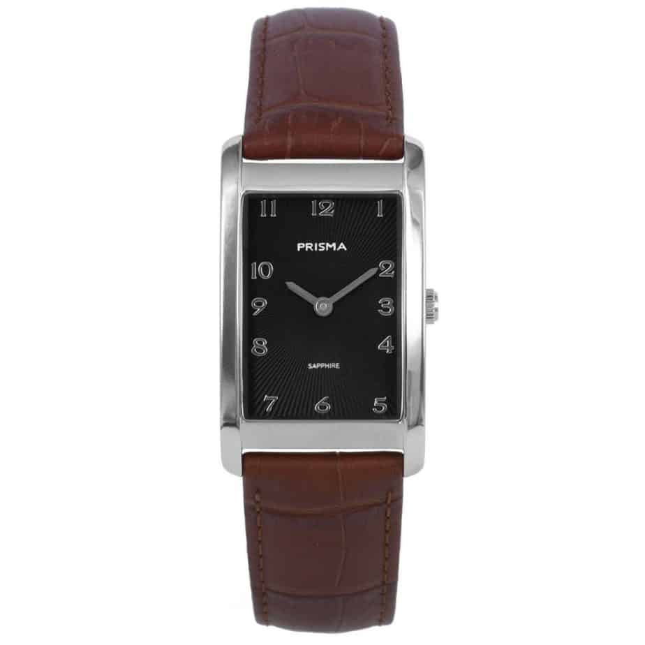 Prisma-P1966-dames-horloge-titanium-zilver-rechthoek-l