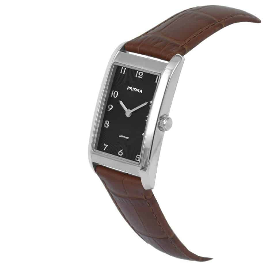 Prisma-P1966-dames-horloge-titanium-zilver-rechthoek-schuin-l