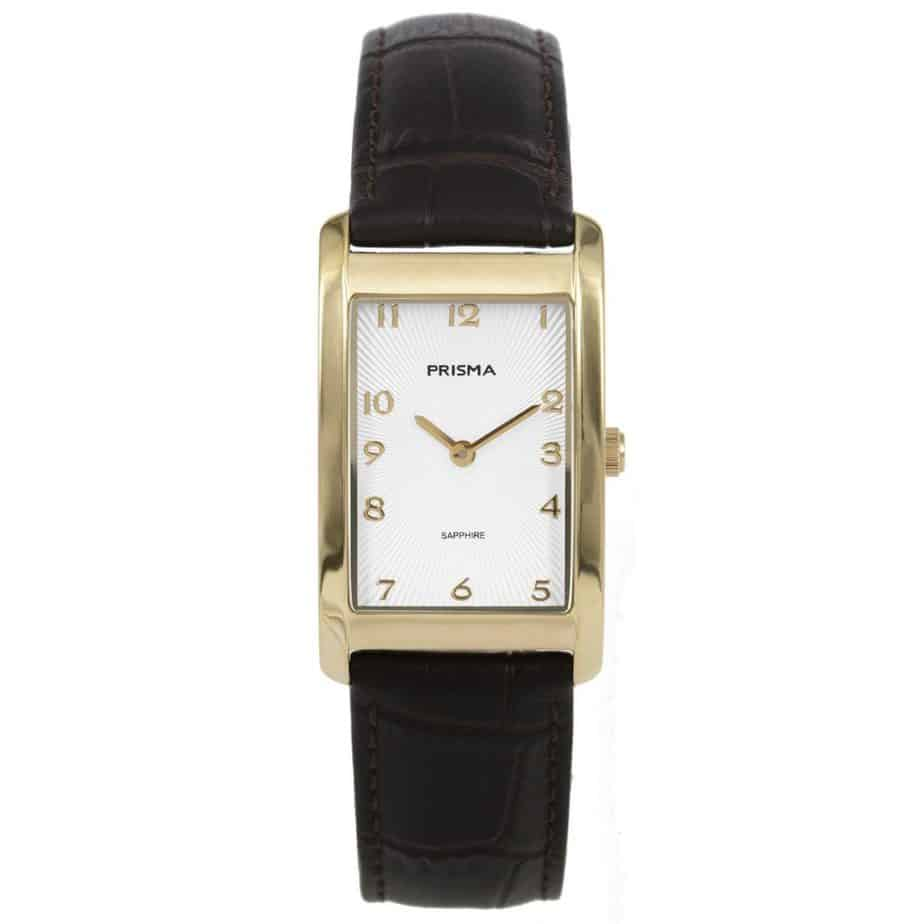 Prisma-P1967-dames-horloge-titanium-goud-rechthoek-l