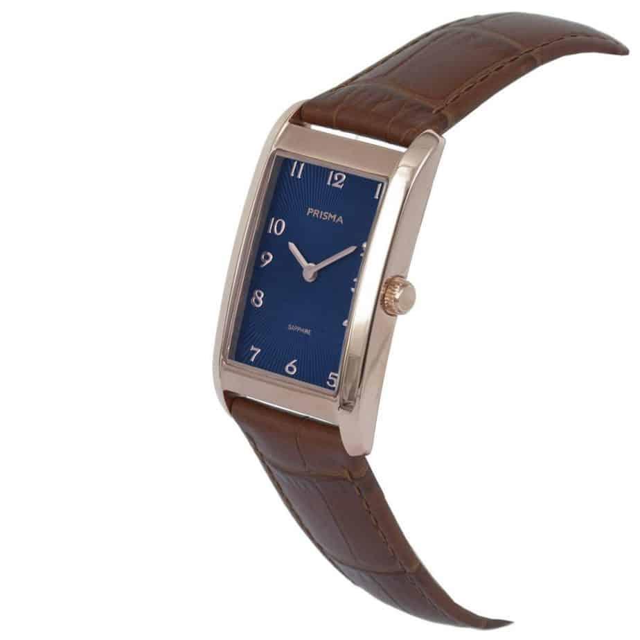 Prisma-P1968-dames-horloge-titanium-rosegoud-rechthoek-schuin-l