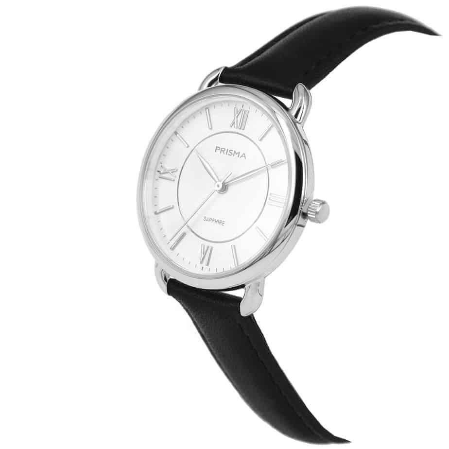 Prisma-P1970-dames-horloge-edelstaal-Zilver-schuin-l