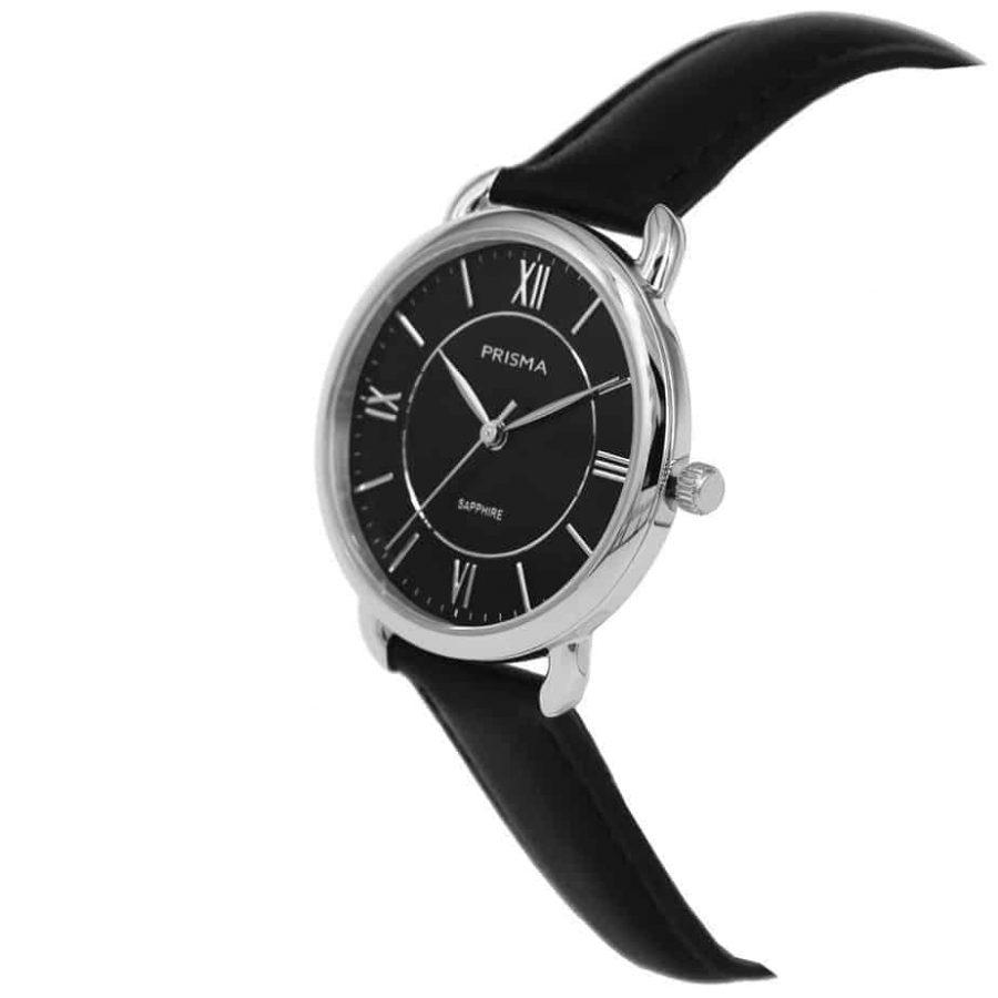 Prisma-P1971-dames-horloge-edelstaal-zilver-schuin-l
