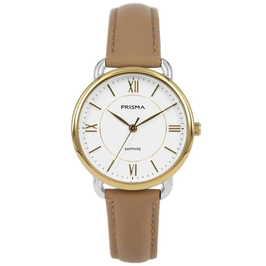 Prisma-P1972-dames-horloge-edelstaal-bicolor-goud-l