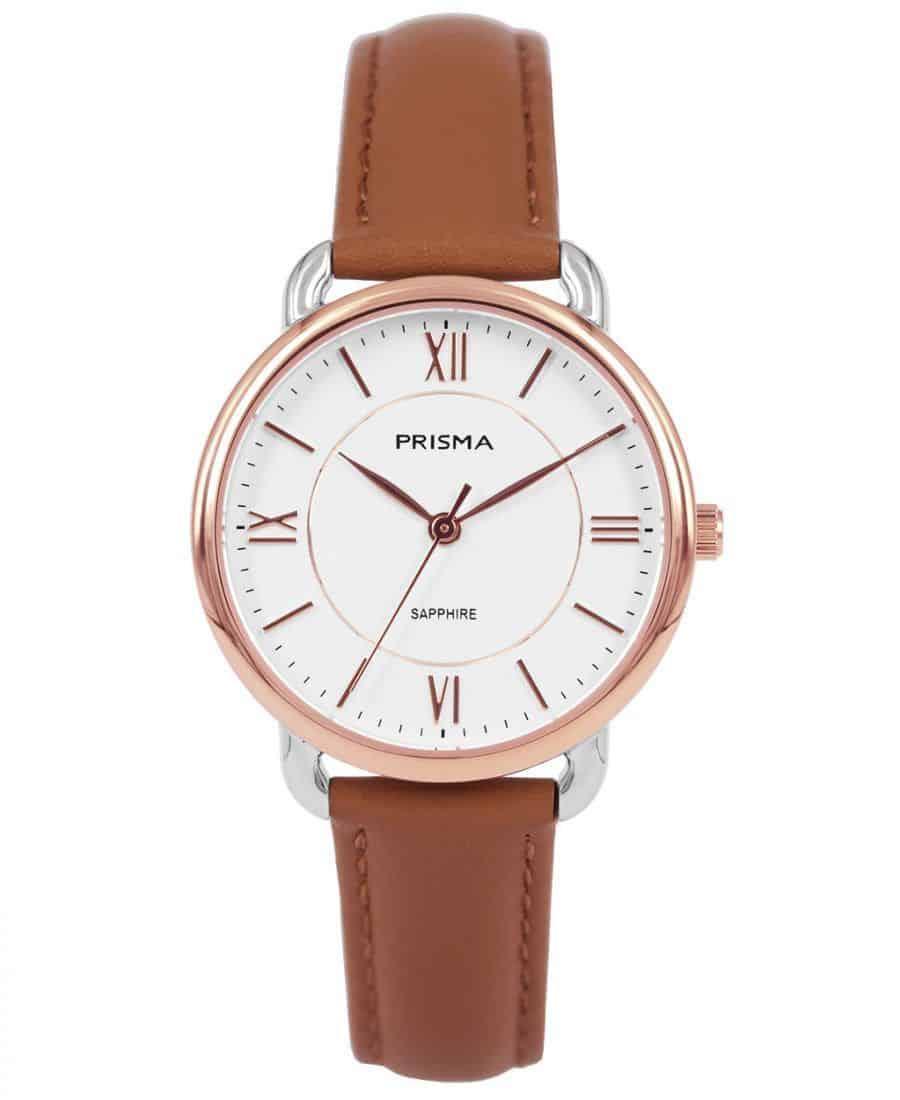 Prisma-P1973-dames-horloge-edelstaal-bicolor-rosegoud-l