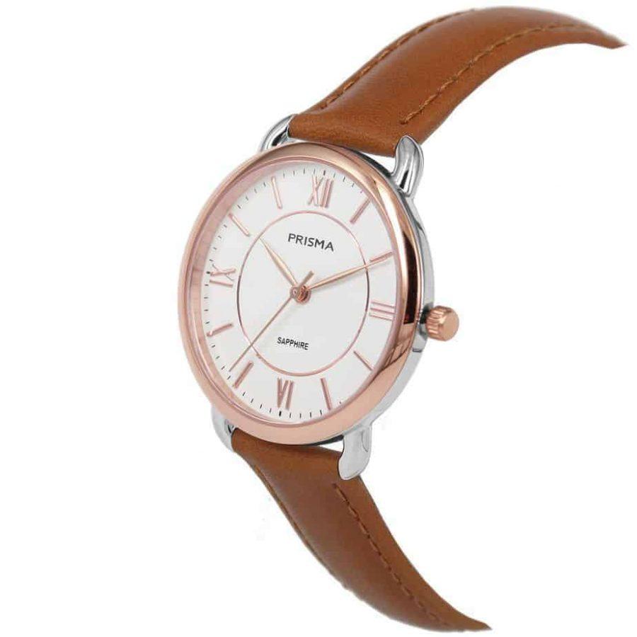 Prisma-P1973-dames-horloge-edelstaal-bicolor-rosegoud-schuin-l