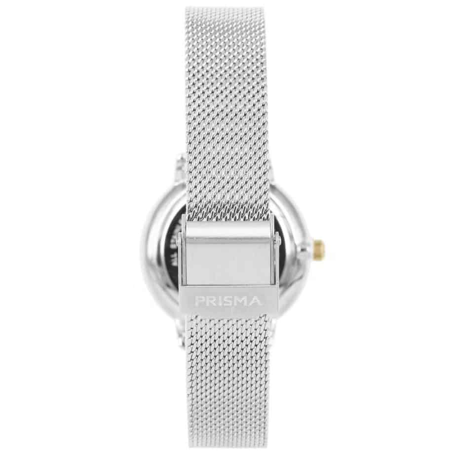Prisma-P1444-dames-horloge-zilver-milanees-achterkant