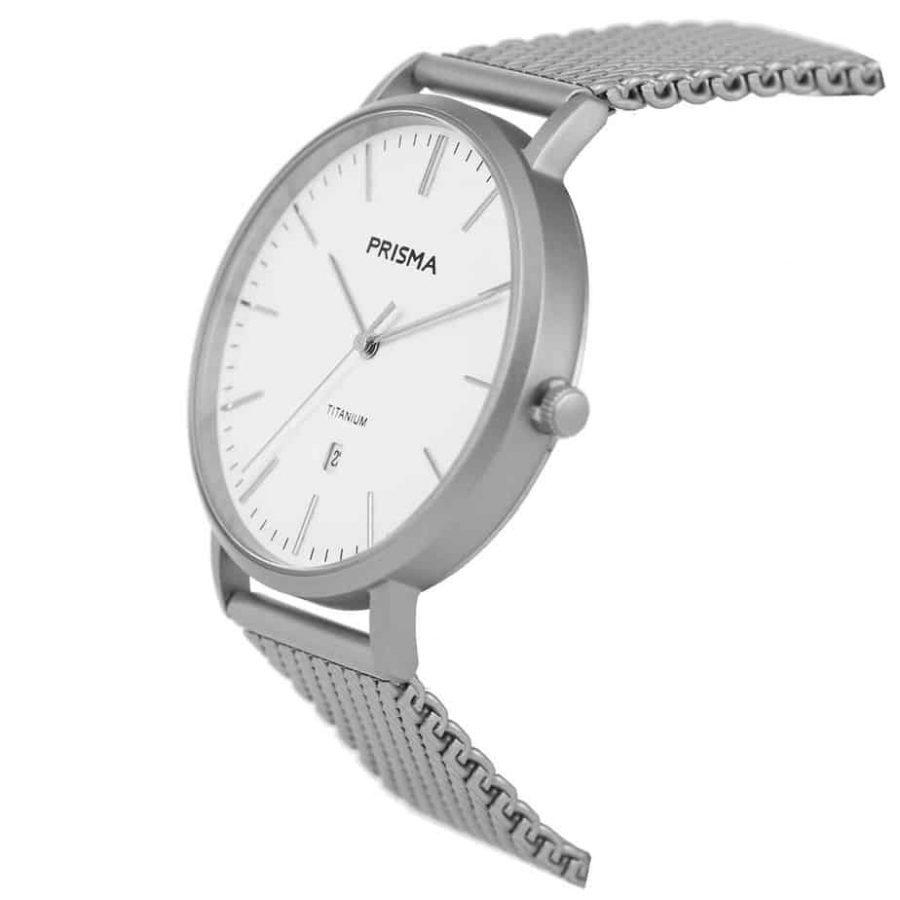 Prisma-P1487-heren-horloge-titanium-milanees-schuin-l