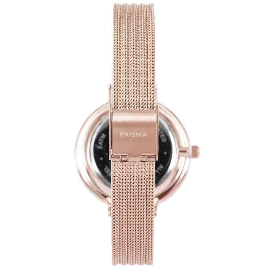 Prisma-P1874-dames-horloges-edelstaal-milanees-rosegoud-achterkant