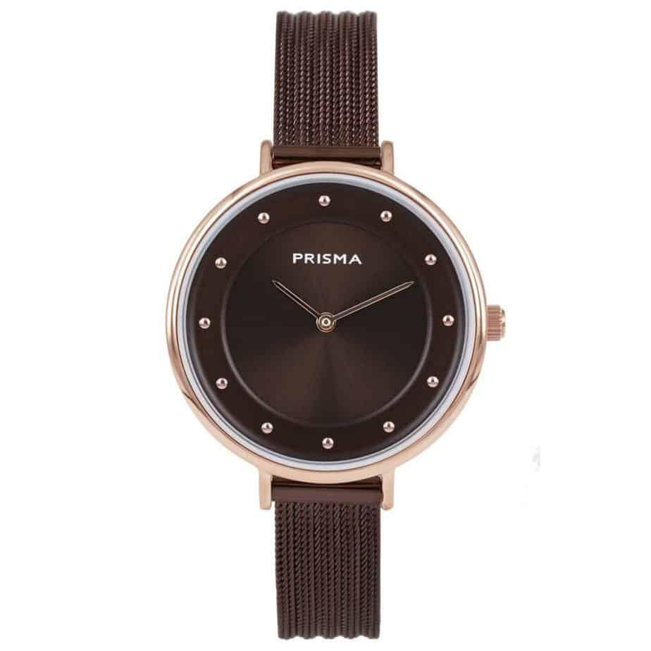 Prisma-P1875-dames-horloges-edelstaal-milanees-rosegoud-l
