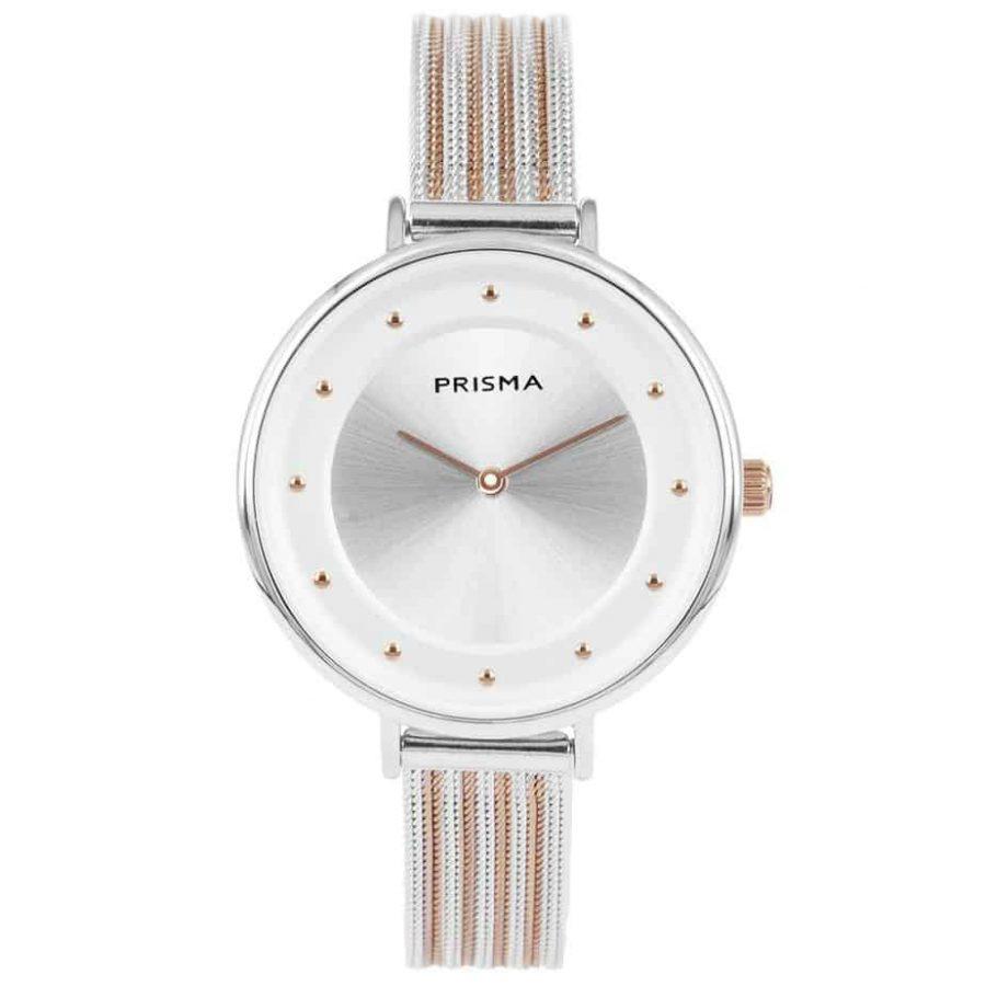 Prisma-P1876-dames-horloges-edelstaal-milanees-bicolor-l