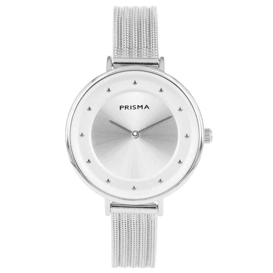 Prisma-P1878-dames-horloges-edelstaal-milanees-zilver-l