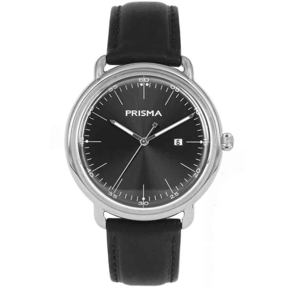 Prisma-P1911-heren-horloge-dome-zwart-l
