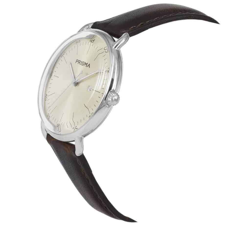 Prisma-P1912-heren-horloge-dome-champgne-schuin