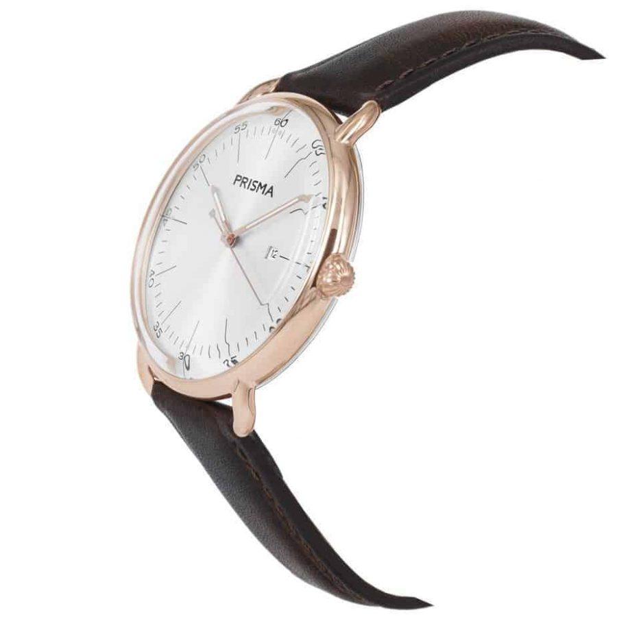 Prisma-P1913-heren-horloges-dome-rosegoud-schuin