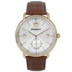 Prisma 1917 herenhorloge men watch retro design vintage P1917 heren horloge dome retro