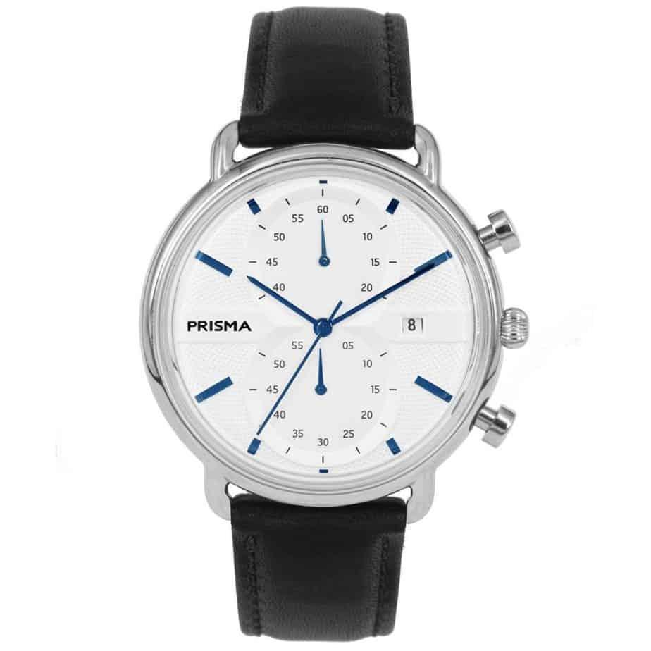 Prisma 1920 Dome P1920 heren horloge edelstaal chronograaf chronograph men's watch