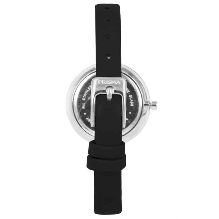 Prisma-P1927-dames-horloge-edelstaal-zilver-achterkant