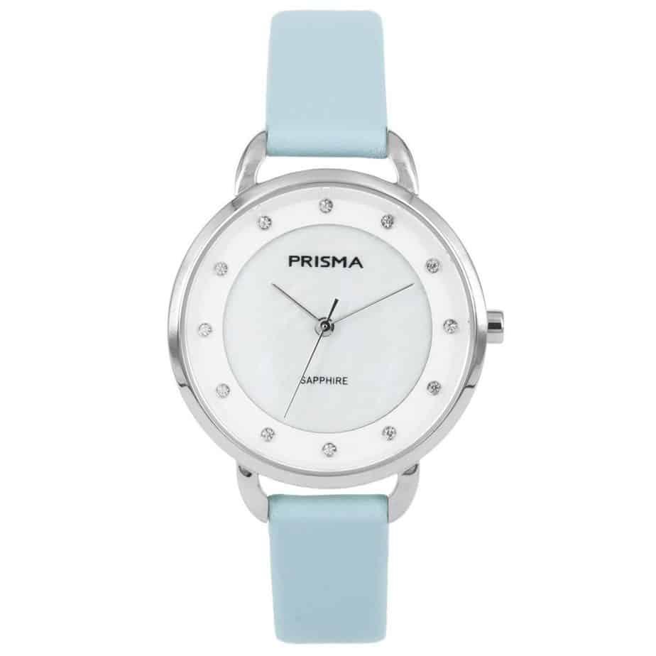 Prisma-P1935-dames-horloge-edelstaal-pastel-blauw-l