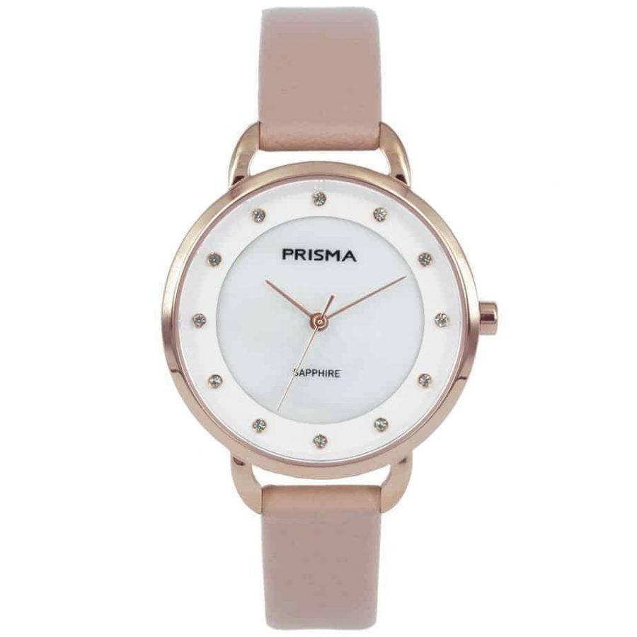 Prisma-P1936-dames-horloge-edelstaal-pastel-roze-l