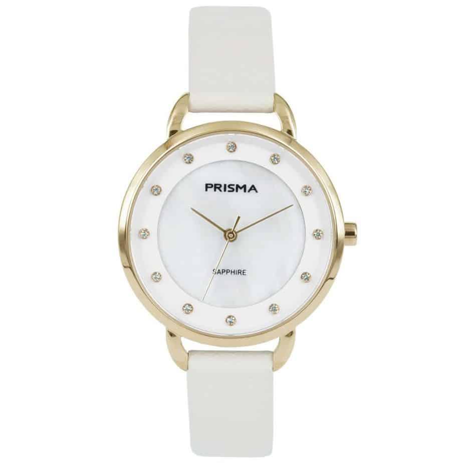 Prisma-P1937-dames-horloge-edelstaal-pastel-wit-l