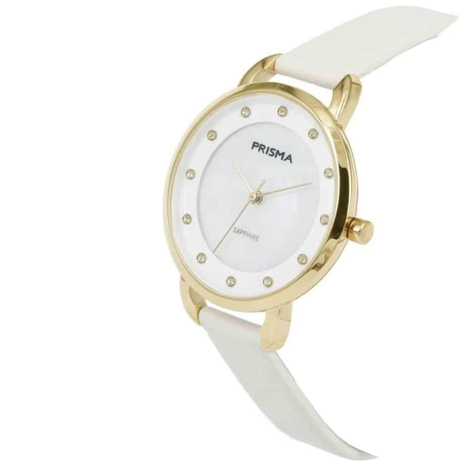 Prisma-P1937-dames-horloge-edelstaal-pastel-wit-schuin-l