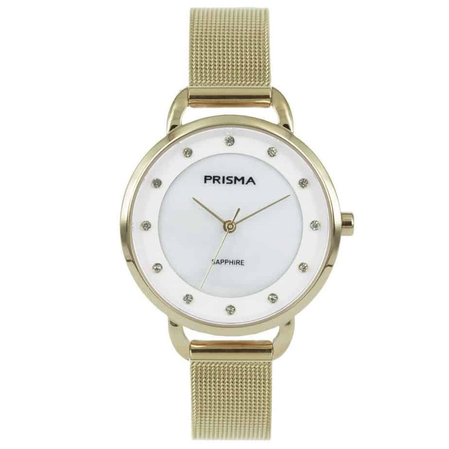 Prisma-P1938-dames-horloge-edelstaal-milanees-goud-l
