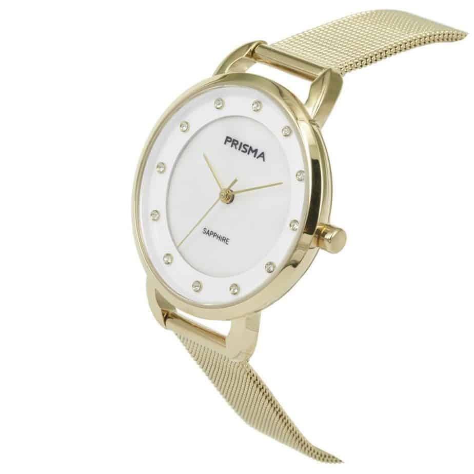 Prisma-P1938-dames-horloge-edelstaal-milanees-goud-schuin-l