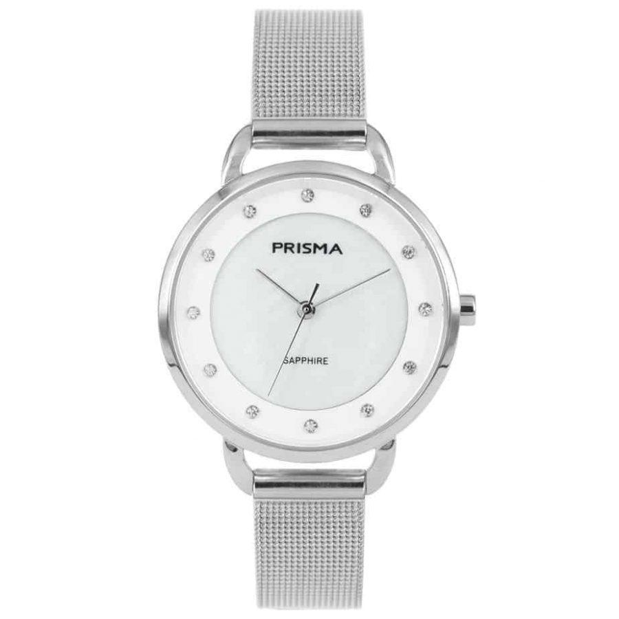 Prisma-P1939-dames-horloge-edelstaal-milanees-zilver-l