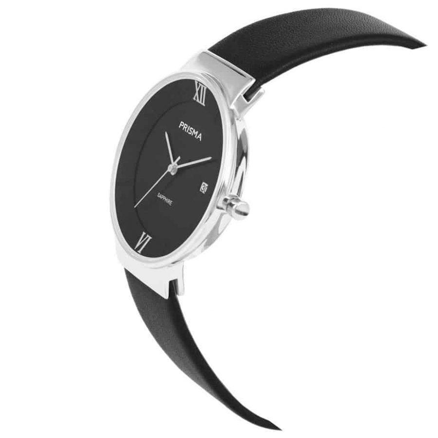 Prisma-P1942-dames-horloge-edelstaal-danish-design-schuin