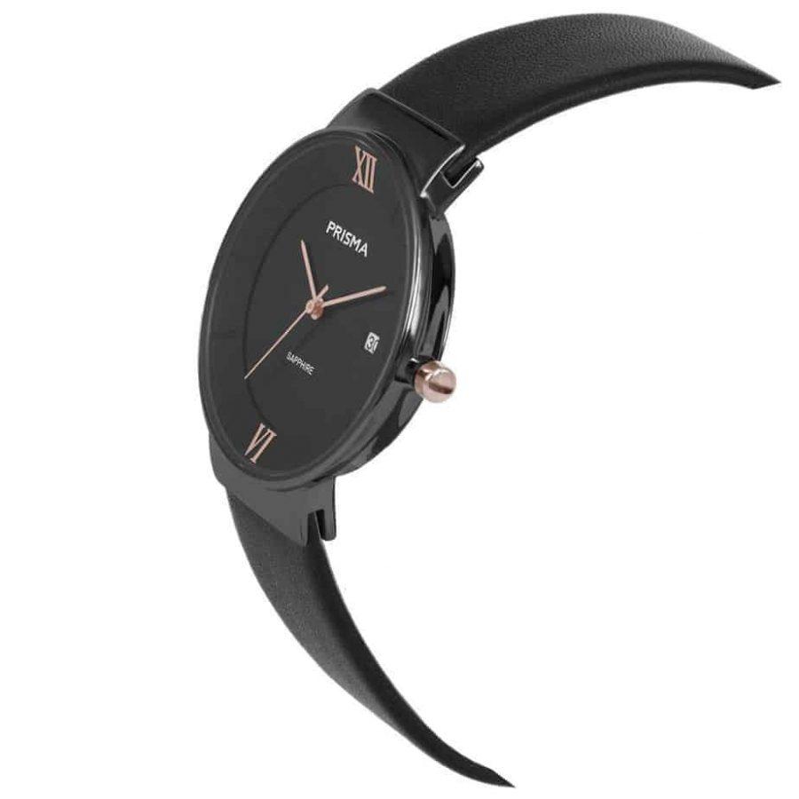 Prisma-P1944-dames-horloge-edelstaal-danish-design-schuin