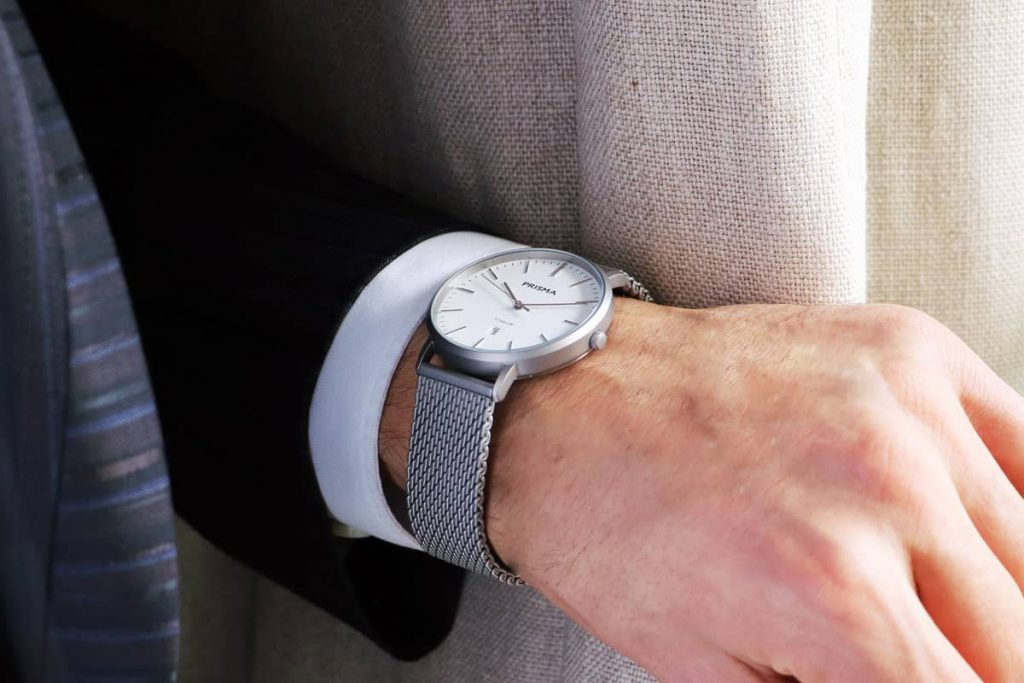 Prisma horloge heren Tailor Mesh men watch