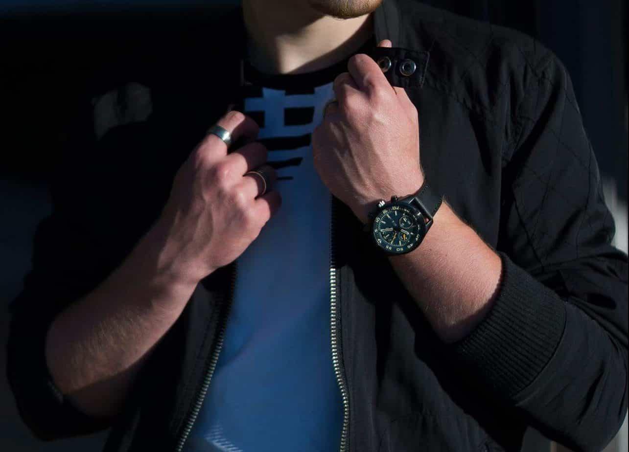 Bryan Rombouts horloge Aviator Prisma