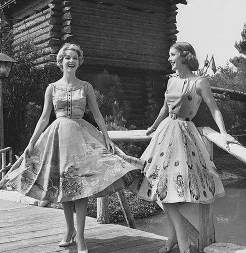 1950s women style watch dames stijl 1950 fifties