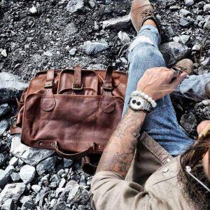 Titanium watch adventures prisma horloges on the wrist Emanuele bonomini