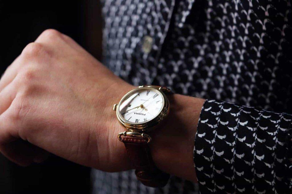 klassiek vintage dameshorloge ladies watch prisma prestige