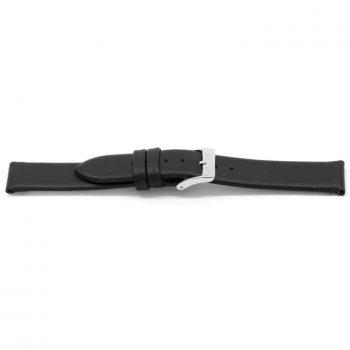 horlogeband 123 claudio calli classic zwart ongestikt black watch strap nfc tag