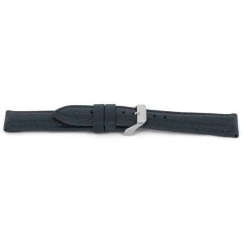 horlogeband 081 claudio calli leer grijs blauw nfc chip watch strap blue XL strap