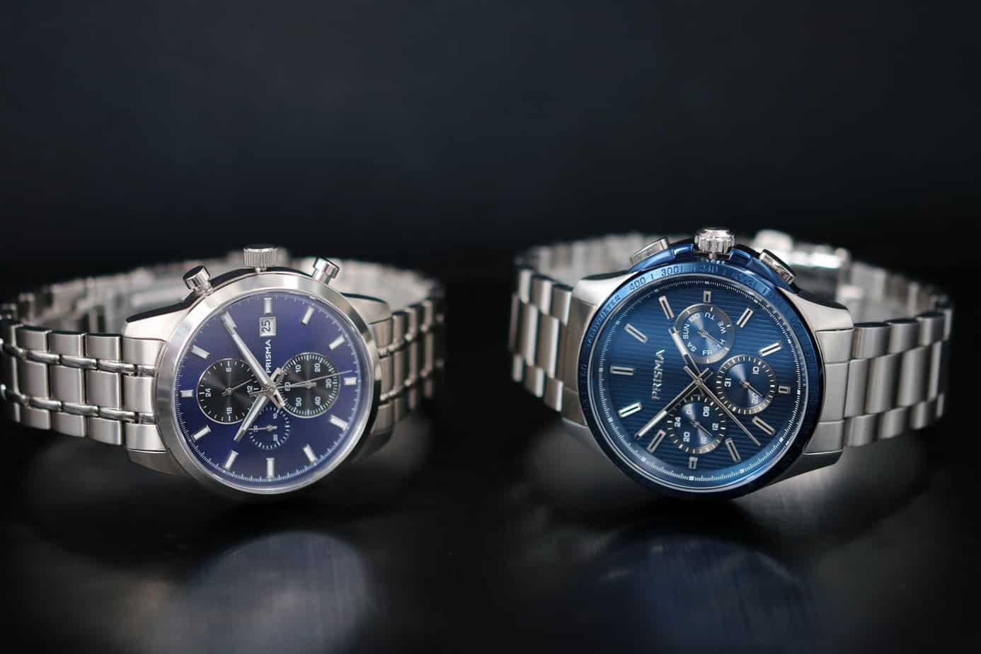 blauwe horloges blauw wijzerplaten blue dials watches