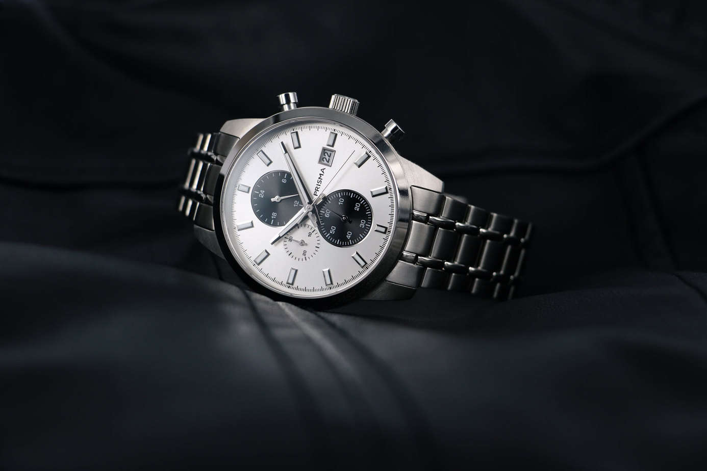 prisma traveller titanium chronograaf chronograph P.1946 horloges watches