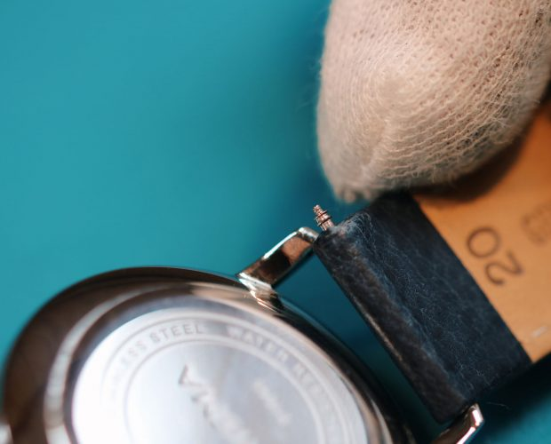 prisma zelf leren lederen horlogeband vervangen change leather watch strap band yourself