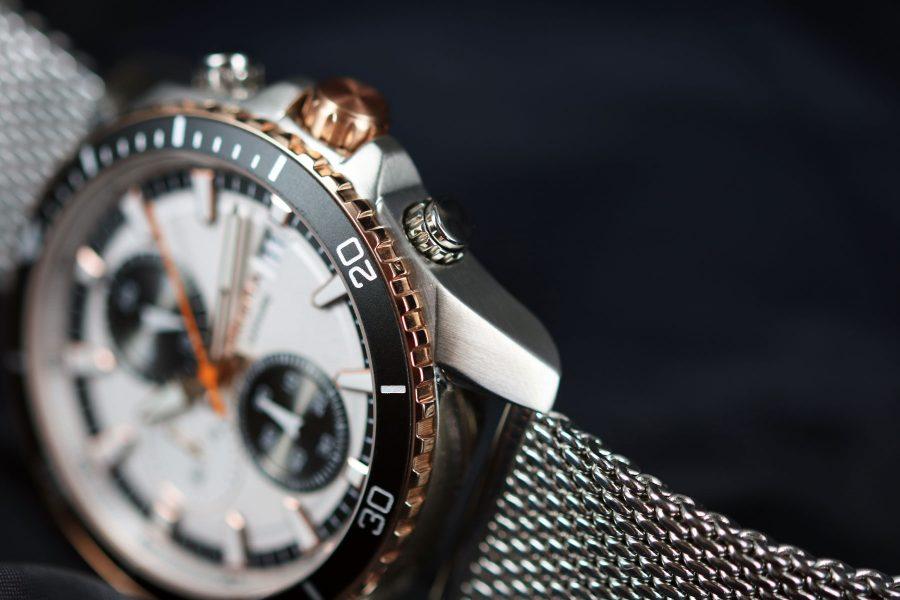 prisma watch herenhorloge rosegoud P1325