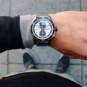 prisma 1325 master black zwart chronograaf chronograph men watch herenhorloge zwart P1326