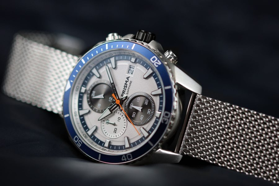 prisma watch horloge herenhorloge master P1326 blauw