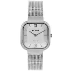 Carré zilver dames horloge Prisma