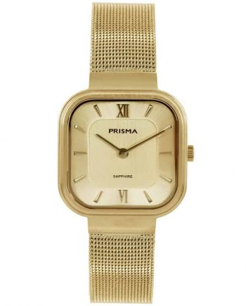 Carré gold dames horloge