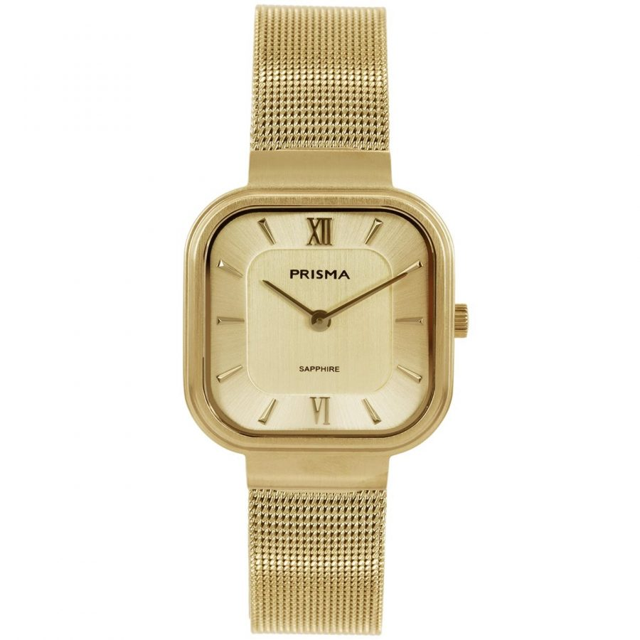 Carré gold dames horloge